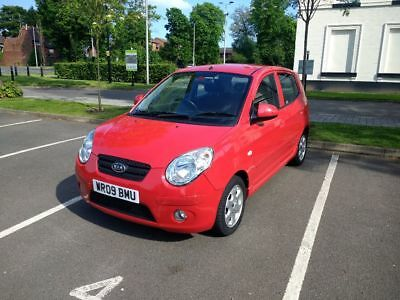 2009 Kia Picanto,NO RESERVE SALE,only 30,000 miles,great little car,£30 road tax