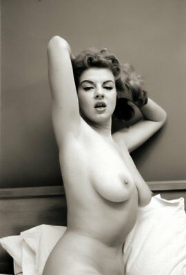 BUSTY JACKIE MILLER Negative 1950s By HARRY AMDUR NYC Photographer (Nudes)