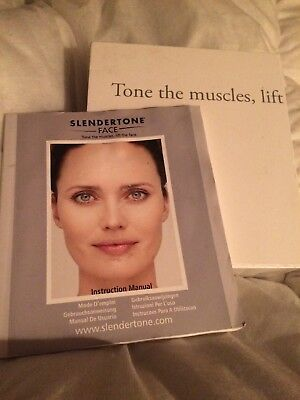 Slendertone Face With Instructions Charger And Pads 13578