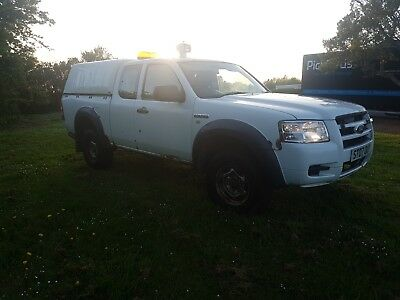 2007 ford ranger king cab  pick up 2.5 tdci 4x4 tow bar , canopy 3 month mot