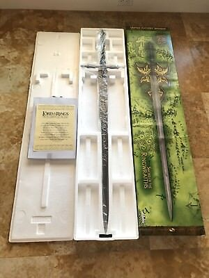 UC 1278 United Cutlery Sword of the Ringwraiths LOTR Lord of the Rings (NOS)