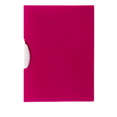 Marbig Report File A4 Swing Clip - Pink