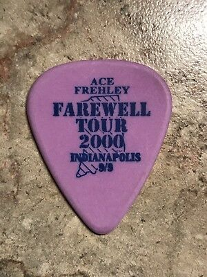 "KISS ""Ace Frehley"" Indianapolis 2000 Farewell Tour Guitar Pick"