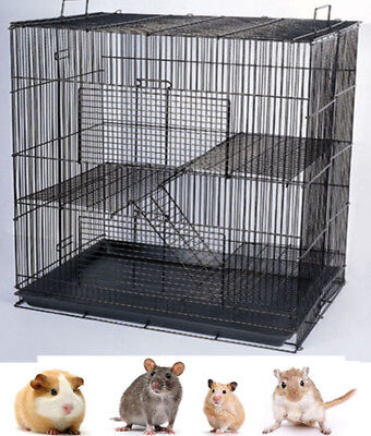 NEW Chinchilla Guinea Pig Rat Dwarf Hamster Mice Mouse Rat Degu Rabbit Cage 307