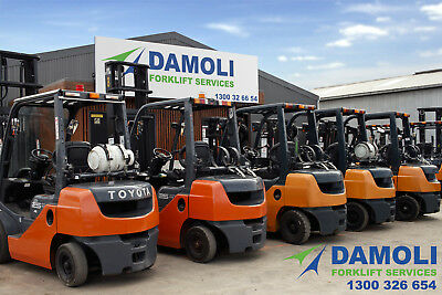 TOYOTA FORKLIFTS FOR SALE - Everything must go!