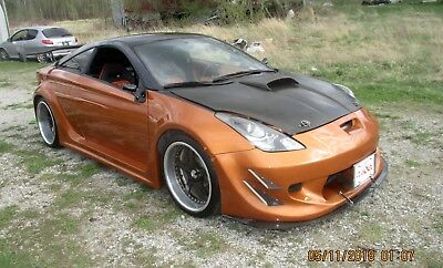 "2002 Toyota Celica GTS WIDE BODY 02 CELICA CUSTOM SHOWCAR TUNER OVER 50K SPENT MAG FEATURED CARBONFIBRE 19"" ALLOY"