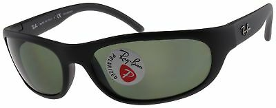 d25dea8108 NEW RAYBAN SUNGLASSES RB4033 601S48 Black Grey Green Polarized 4033 ...