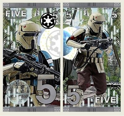 Shoretrooper - 5 Imperial Credits - Fantasy Note - Star Wars (2018)