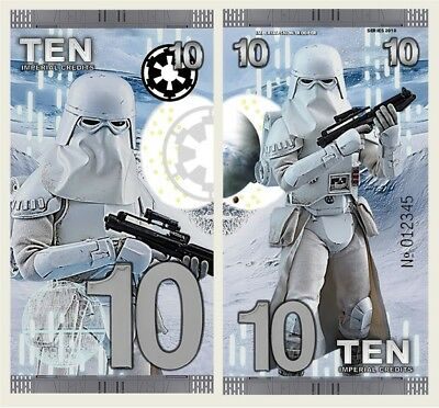 Snowtrooper - 10 Imperial Credits - Fantasy Note - Star Wars (2018)