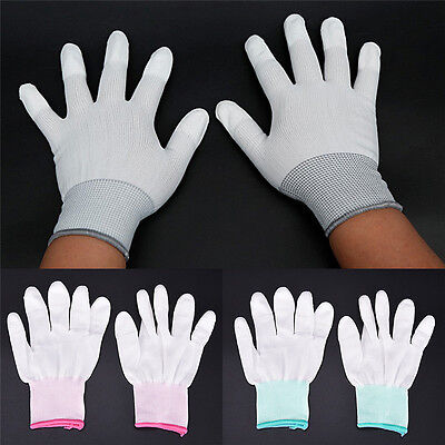 Anti Static Antiskid Glove ESD Electronic Labor Worker Computer Phone Repair XE