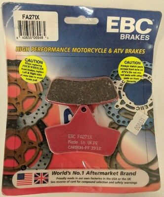 EBC Front or Rear Long Life Sintered R Brake Pads - FA271X for Arctic Cat
