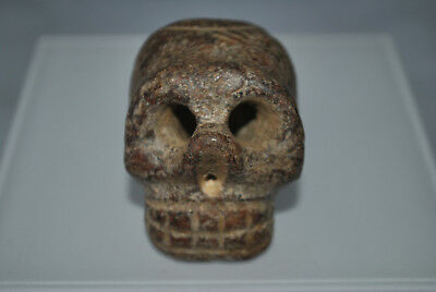 Exquisite Chinese Hongshan Culture skull Pendant A5