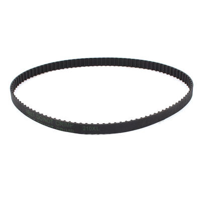 "210XL 105 Teeth 10mm Width Black Rubber Cogged Timing Belt 21"" Girth"