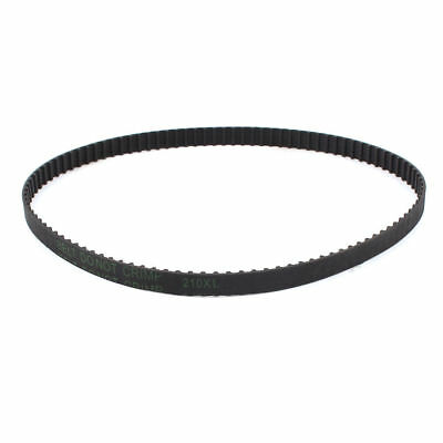 "H● 210XL 105 Teeth 10mm Width Black Rubber Cogged Timing Belt 21"" Girth"