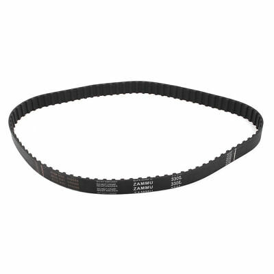 88 Teeth 80cm PU Rubber Synchronous Timing Belt Gears Belts Black