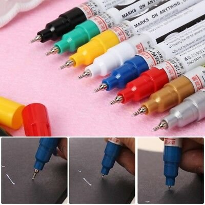 DIY Art Universal 0.7mm Extra Fine Point Permanent Paint Metallic Marker Pen