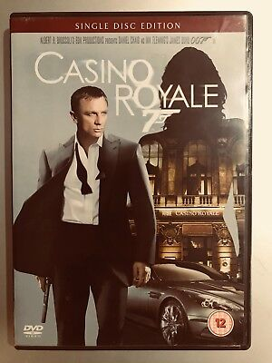 Daniel Craig as james bond 007 Casino Royale ~ 2006GB DISCO SINGLE DVD