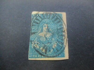 Victoria Stamps: Half Length Used SCOTT 3   (R115)