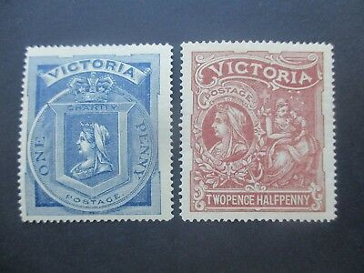 Victoria Stamps: Charity Set Mint  - Rare   (m94)