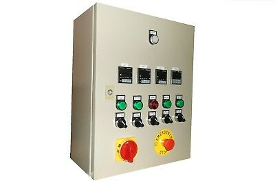 Home brew, brewery control panel single phase supply