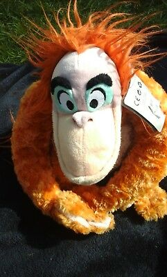Genuine Disney Store King Louie From Jungle Book Soft Plush Toy With Tag