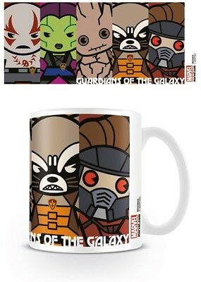 New Mug Official Guardians Of The Galaxy Drinkware Marvel Heros Groot Rocket