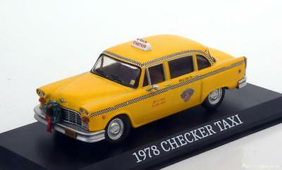 1:43 Greenlight Checker Taxi Cab Scrooged 1978 yellow