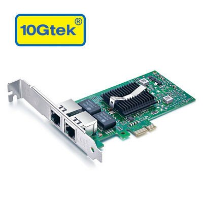 Intel 82576 Chip Gigabit Network Adapter (Nic), Dual RJ45 Port, Same as E1G42ET