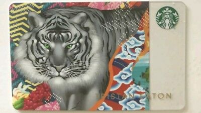 New Starbucks 2018 Tristan Eaton Sumatra Special Edition Gift Card **presale**