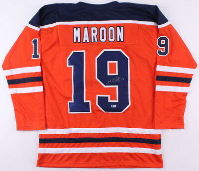 Patrick Maroon Signed Oilers Home Jersey (Beckett) Playing career 2008– present 3880df3c1