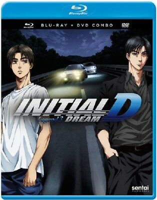 Initial D Legend 3 Dream Three New Blu-ray Region A + DVD