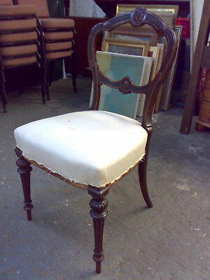 Victorian antique side chair