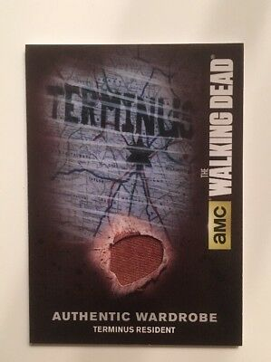 M58 Terminus Resident Card Authentic Wardrobe The Walking Dead Season 4 Part 2