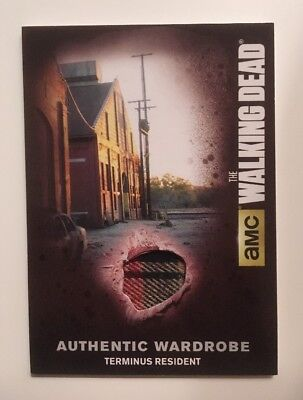 M43 Terminus Resident Card Authentic Wardrobe The Walking Dead Season 4 Part 2