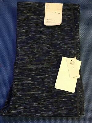 GAP GapFit gFast full panel Navy Blue Space Dye Maternity Leggings Medium NWT