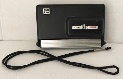 Kodak Disc 4100 Vintage Disc Camera EXCELLENT Great Photoshoot Prop Camera! 😎