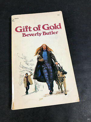 Gift of Gold by Beverly Butler archway paperback Vtg