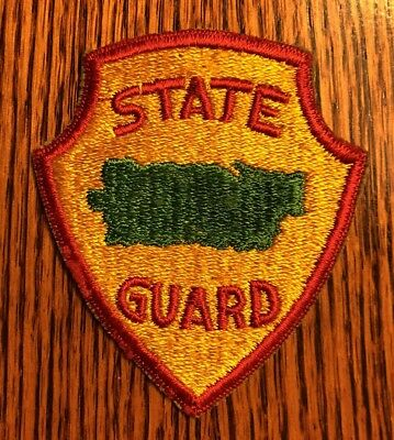 Original Wwii - Puerto Rico State Guard Patch