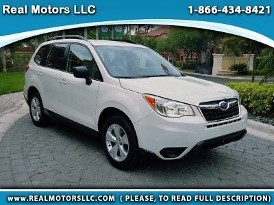 2016 Subaru Forester 2.5L I PZEV CVT 2016 Subaru Forester 2.5I w 9k miles, Financing Available, Just Serviced, Inspec