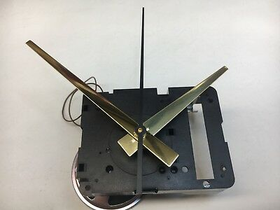"Seiko Quartz Clock Movement Dual Chime Westminster Whittington 11/16"" Shaft"