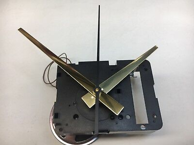 "Seiko Quartz Clock Movement Dual Chime Westminster Whittington 1 1/16"" Shaft"