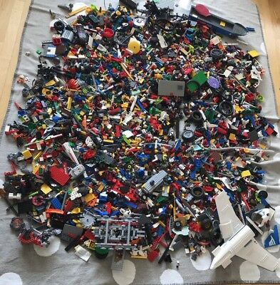 Riesiges Lego Paket 16 kg Flugzeug Polizei Star Wars Chima Lego City