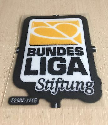 Bundesliga Stiftung Patch Trikot Badge aus 2009/10 Lextra original Aufbügler