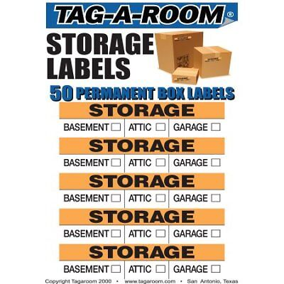 Storage Moving Labels Identify box contents with 50 labels W