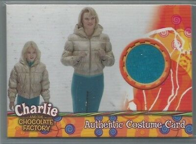 2005 Charlie and the Chocolate Factory Costume Relics Missi Pyle swatch /720