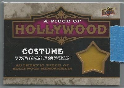 2009 Upper Deck A Piece of History - Michael Myers/Austin Powers relic