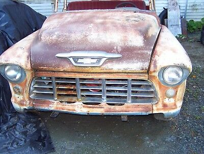 1955 Chevrolet 3100  very solid 55 chevy short box project