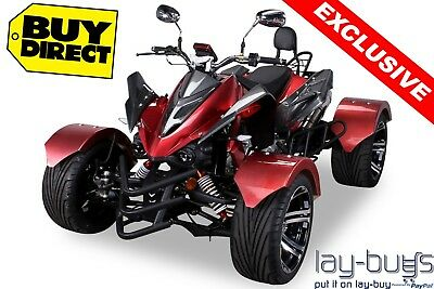 300cc ROAD LEGAL QUAD BIKE, FINANCE AVAILABLE, EASY PAY WITH LAY-BUYS, REV'N'GO!