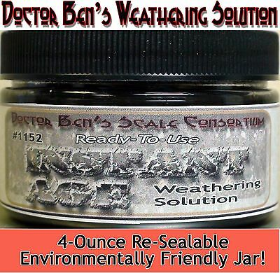 Instant Age Weathering Solution-4oz Doctor Ben's WOOD/PLASTIC/METAL ossx01