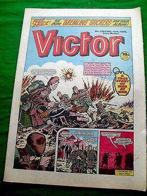 The Black Watch  At River Aisne Mons   Ww1 Cover Story Victor Comic  1984